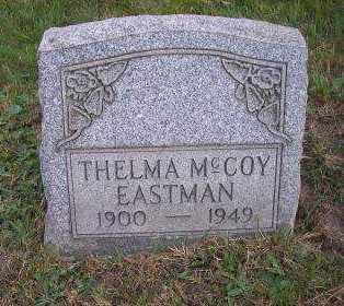 MCCOY EASTMAN, THELMA - Columbiana County, Ohio | THELMA MCCOY EASTMAN - Ohio Gravestone Photos