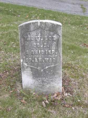 ECK, MICHEL - Columbiana County, Ohio | MICHEL ECK - Ohio Gravestone Photos