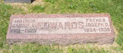 EDWARDS, JOSEPH - Columbiana County, Ohio | JOSEPH EDWARDS - Ohio Gravestone Photos