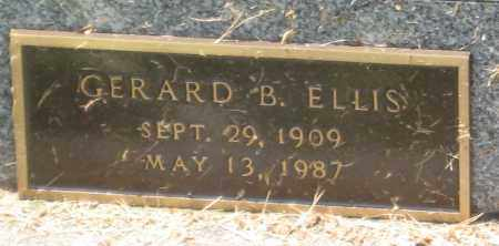 ELLIS, GERARD B - Columbiana County, Ohio | GERARD B ELLIS - Ohio Gravestone Photos