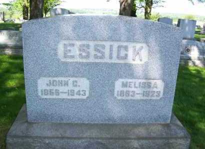 ESSICK, MELISSA - Columbiana County, Ohio | MELISSA ESSICK - Ohio Gravestone Photos
