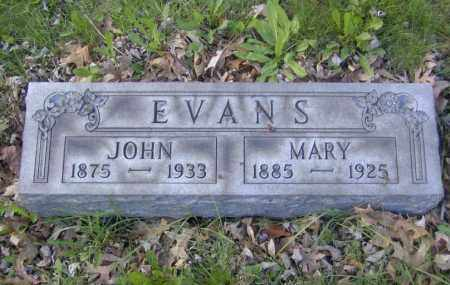 EVANS, MARY - Columbiana County, Ohio | MARY EVANS - Ohio Gravestone Photos