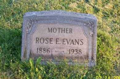 JONES EVANS, ROSE ELLEN - Columbiana County, Ohio | ROSE ELLEN JONES EVANS - Ohio Gravestone Photos