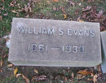 EVANS, WILLIAM S. - Columbiana County, Ohio   WILLIAM S. EVANS - Ohio Gravestone Photos