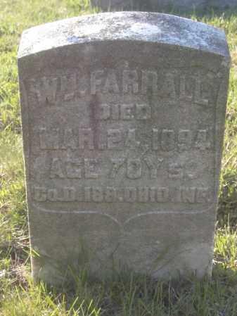 FARRALL, WM - Columbiana County, Ohio | WM FARRALL - Ohio Gravestone Photos