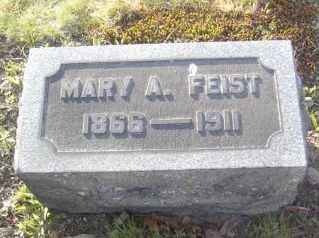 FEIST, MARY A. - Columbiana County, Ohio   MARY A. FEIST - Ohio Gravestone Photos