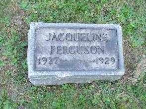 FERGUSON, JACQUELINE - Columbiana County, Ohio | JACQUELINE FERGUSON - Ohio Gravestone Photos