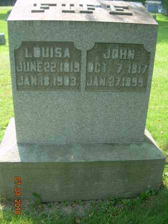 CROW FIFE, LOUISA - Columbiana County, Ohio | LOUISA CROW FIFE - Ohio Gravestone Photos