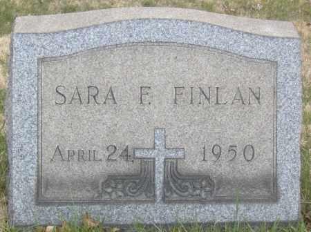 FINLAN, SARA F. - Columbiana County, Ohio   SARA F. FINLAN - Ohio Gravestone Photos
