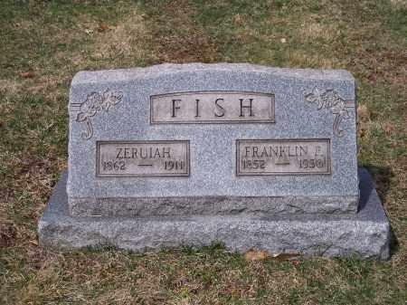 FISH, FRANKLIN P. - Columbiana County, Ohio | FRANKLIN P. FISH - Ohio Gravestone Photos