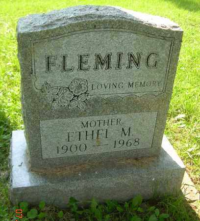 FLEMING, ETHEL M. - Columbiana County, Ohio | ETHEL M. FLEMING - Ohio Gravestone Photos