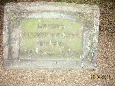 FOUNDS, FANNIE - Columbiana County, Ohio   FANNIE FOUNDS - Ohio Gravestone Photos