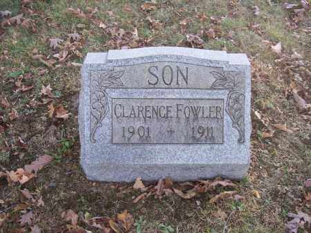 FOWLER, CLARENCE - Columbiana County, Ohio | CLARENCE FOWLER - Ohio Gravestone Photos