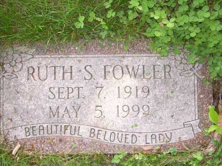 FOWLER, RUTH - Columbiana County, Ohio | RUTH FOWLER - Ohio Gravestone Photos