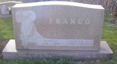 FRANCO, DOMENIC - Columbiana County, Ohio | DOMENIC FRANCO - Ohio Gravestone Photos