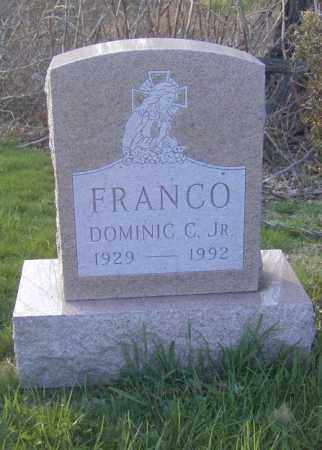 FRANCO, DOMINIC C. JR. - Columbiana County, Ohio | DOMINIC C. JR. FRANCO - Ohio Gravestone Photos