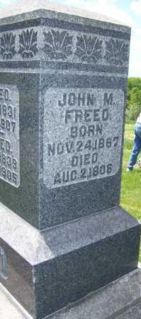 FREEED, JOHN M - Columbiana County, Ohio | JOHN M FREEED - Ohio Gravestone Photos