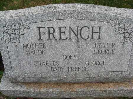 ROACH FRENCH, MAUDE  AND GEORGE - Columbiana County, Ohio | MAUDE  AND GEORGE ROACH FRENCH - Ohio Gravestone Photos