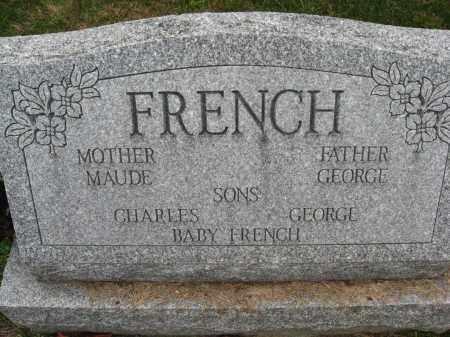 FRENCH, MAUDE  AND GEORGE - Columbiana County, Ohio | MAUDE  AND GEORGE FRENCH - Ohio Gravestone Photos