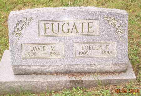 BEVINGTON FUGATE, LOELLA E - Columbiana County, Ohio | LOELLA E BEVINGTON FUGATE - Ohio Gravestone Photos