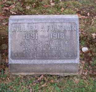 FULTMAN, WILLIAM A. - Columbiana County, Ohio   WILLIAM A. FULTMAN - Ohio Gravestone Photos