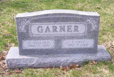 GARNER, G. WILLARD - Columbiana County, Ohio | G. WILLARD GARNER - Ohio Gravestone Photos