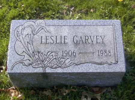 GARVEY, LESLIE - Columbiana County, Ohio | LESLIE GARVEY - Ohio Gravestone Photos