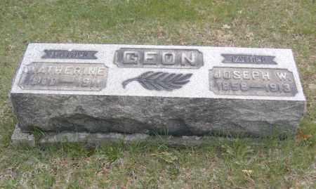GEON, KATHERINE - Columbiana County, Ohio | KATHERINE GEON - Ohio Gravestone Photos