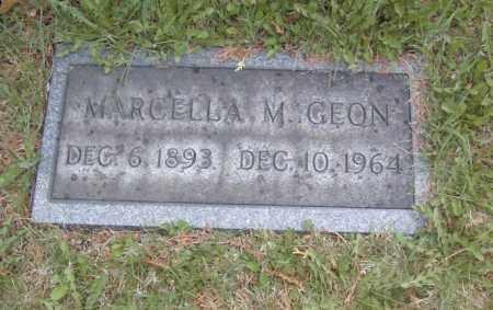 GEON, MARCELLA M. - Columbiana County, Ohio | MARCELLA M. GEON - Ohio Gravestone Photos