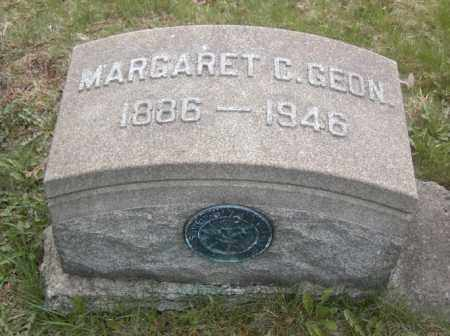 GEON, MARGARET C. - Columbiana County, Ohio   MARGARET C. GEON - Ohio Gravestone Photos