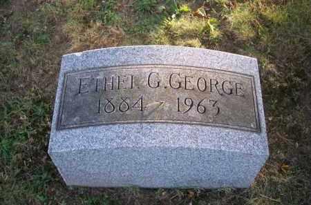 GEORGE, ETHEL G. - Columbiana County, Ohio | ETHEL G. GEORGE - Ohio Gravestone Photos
