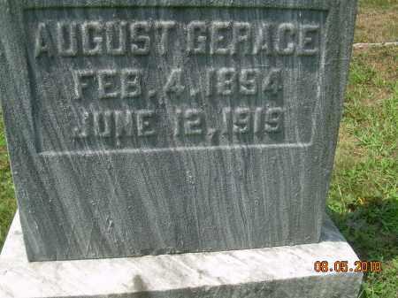 GERACE, AUGUST - Columbiana County, Ohio   AUGUST GERACE - Ohio Gravestone Photos