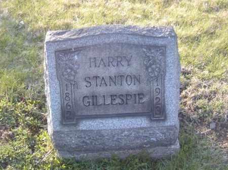 GILLESPIE, HARRY STANTON - Columbiana County, Ohio   HARRY STANTON GILLESPIE - Ohio Gravestone Photos