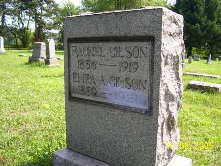 GILSON, RACHEL - Columbiana County, Ohio   RACHEL GILSON - Ohio Gravestone Photos