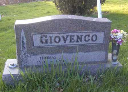 GIOVENCO, THOMAS J. - Columbiana County, Ohio   THOMAS J. GIOVENCO - Ohio Gravestone Photos