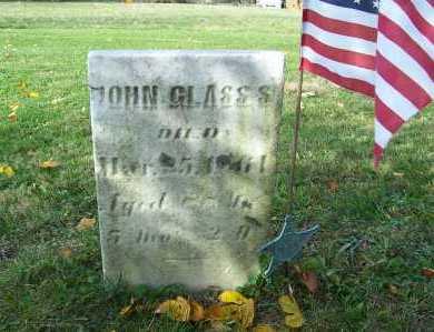 GLASS, JOHN - Columbiana County, Ohio | JOHN GLASS - Ohio Gravestone Photos