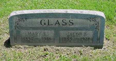 GLASS, JACOB - Columbiana County, Ohio | JACOB GLASS - Ohio Gravestone Photos