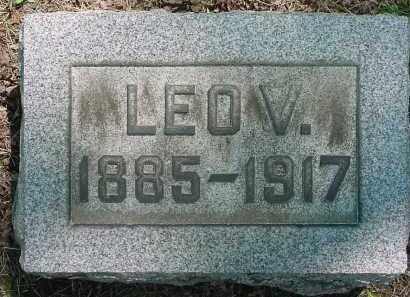 GLASS, LEO V - Columbiana County, Ohio   LEO V GLASS - Ohio Gravestone Photos