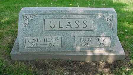 GLASS, RUBY - Columbiana County, Ohio | RUBY GLASS - Ohio Gravestone Photos