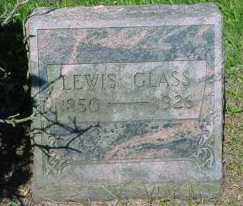 GLASS, LEWIS - Columbiana County, Ohio | LEWIS GLASS - Ohio Gravestone Photos