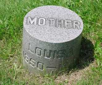 LOWER GLASS, LOUISA - Columbiana County, Ohio | LOUISA LOWER GLASS - Ohio Gravestone Photos