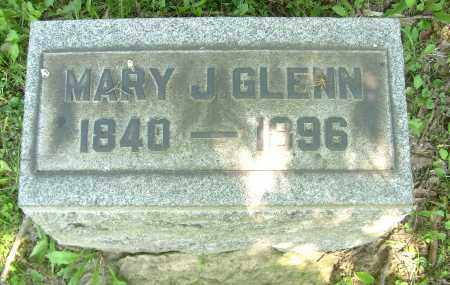 GLENN, MARY J. - Columbiana County, Ohio | MARY J. GLENN - Ohio Gravestone Photos