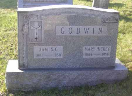 GODWIN, MARY HICKEY - Columbiana County, Ohio | MARY HICKEY GODWIN - Ohio Gravestone Photos
