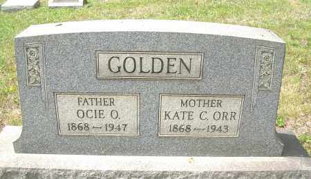 ORR GOLDEN, KATE C - Columbiana County, Ohio | KATE C ORR GOLDEN - Ohio Gravestone Photos