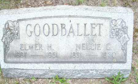 GOODBALLET, ELMER H - Columbiana County, Ohio   ELMER H GOODBALLET - Ohio Gravestone Photos