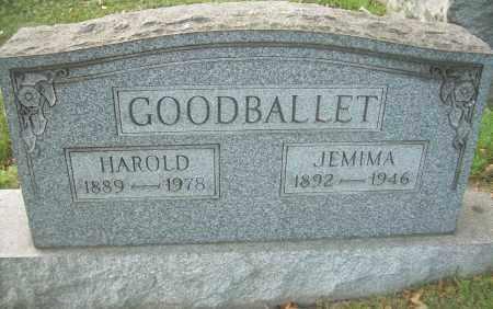 GOODBALLET, HAROLD - Columbiana County, Ohio | HAROLD GOODBALLET - Ohio Gravestone Photos