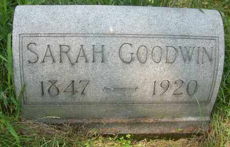 GREATBATCH GOODWIN, SARAH - Columbiana County, Ohio | SARAH GREATBATCH GOODWIN - Ohio Gravestone Photos