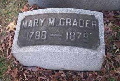 GRADER, MARY M. - Columbiana County, Ohio | MARY M. GRADER - Ohio Gravestone Photos