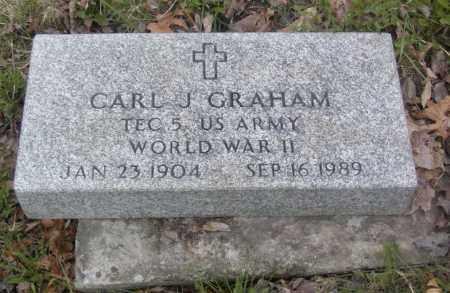 GRAHAM, CARL J. - Columbiana County, Ohio | CARL J. GRAHAM - Ohio Gravestone Photos