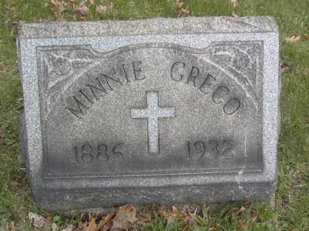 GRECO, MINNIE - Columbiana County, Ohio | MINNIE GRECO - Ohio Gravestone Photos